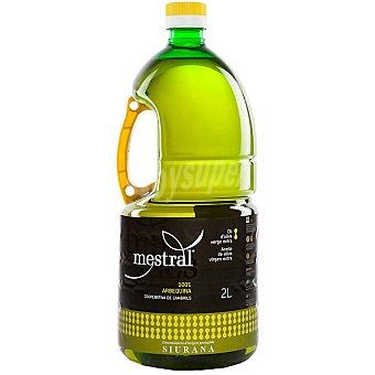 MESTRAL Aceite de oliva virgen extra 100% Arbequina bidon 2 l