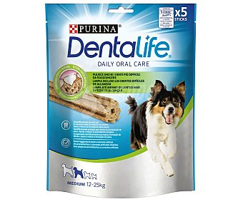 Purina Dentalife Snack dental para perros de raza mediana 5 uds. 115 g