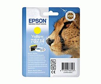 Epson Cartucho T0714 Amarillo 1 Unidad