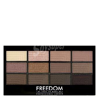 Paleta 12 sombra de ojos Audacious 3 Freedom 1 ud