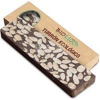 BIOLLUCH Turrón de chocolate con leche-almendras Tableta 200 g