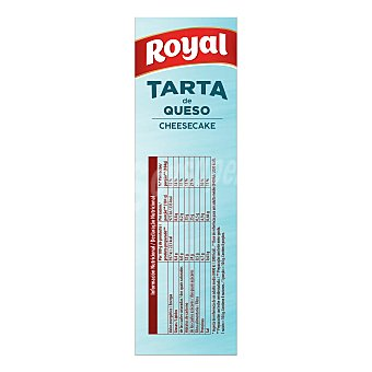 Royal Preparado para pastel de queso 325 g