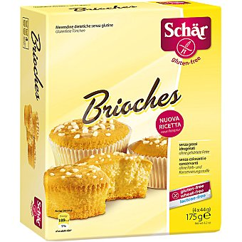 Schär Brioches sin gluten y sin lactosa Envase 175 g