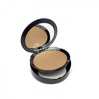 Base de maquillaje compacto col. 01 muy claro ecológica purobio 1 ud