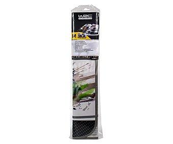 WRC Parasol plegable de aluminio isotérmico, con motivo impreso de coches de rally y medidas de 110 x 60 centímetros WRC