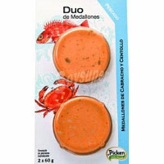 Picken Duo de pescado: cabracho-centollo 120 g