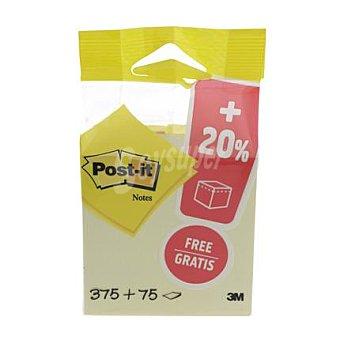 Post-It Cubo Amarillo 450 Hojas 1 ud