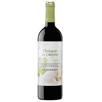 Marqués de Cáceres Vino tinto joven ecológico doca Rioja Botella 75 cl