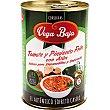 Baja tomate frito y pimiento con atún Lata 420 g Vega Baja