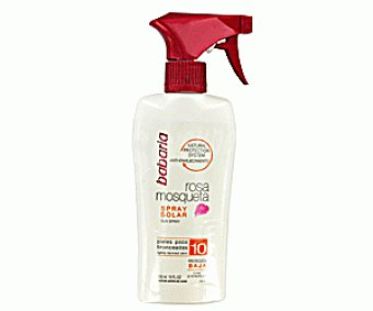 Babaria Spray Solar Rosa Mosqueta FP-10 300ml
