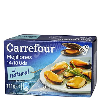 Carrefour Mejillón al natural 14/18 69 g