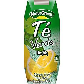 Naturgreen bebida de té verde al limón bio envase 250 ml
