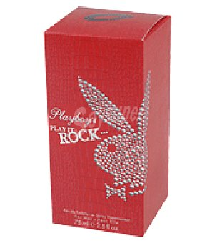 PlayBoy Estuche Colonia + spray female rock 75 ml