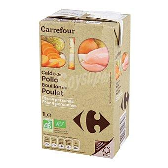 Carrefour Bio Caldo de pollo Brick de 1 l