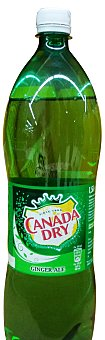 CANADA DRY Ginger ale Botella 1,5 l