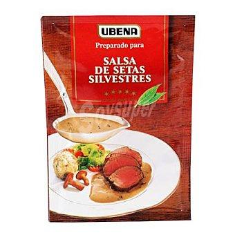 Ubena Salsa sobre setas silvestres 40 g