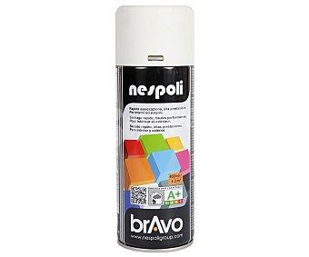 Bravo Pintura en Spary, Color Blanco Mate 400 Mililitros