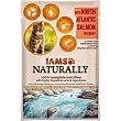 Naturally alimento húmedo para gatos adultos salmón en salsa Envase 85 g IAMS