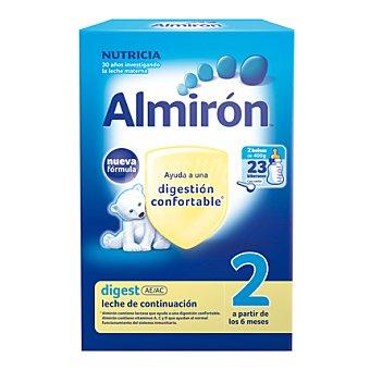 Almirón Nutricia Leche 2 de continuación en polvo Digest 800 g