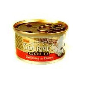 Purina Gourmet Delicias de buey Gold lata 85 g