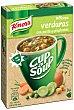 Sopa instantánea de verduras con picatostes y pasta 48 g Knorr