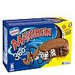 Sándwich 360º helado de chocolate, stracciatella y sirope de chocolate Pack 4 u x 115 ml Maxibon Nestlé