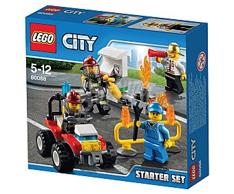 LEGO Juego de construcciones City, Set introducción de bomberos, modelo 60088 1 unidad