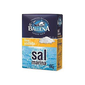 La Ballena Sal marina fina yodada 1 kg