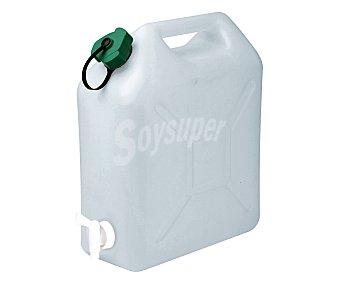 Bidón para agua con tapón simple y grifo, de capacidad EDA 10 l.