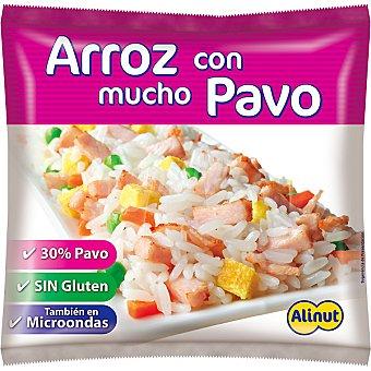 Alinut arroz con pavo sin gluten para sartén y microondas  bolsa 350 g