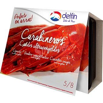 Delfín Carabinero 5-8 piezas estuche 360 g neto escurrido Estuche 360 g neto escurrido