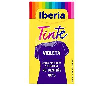 Iberia Tinte de color violeta (permite teñir a baja temperatura 40ª) 1 unidad