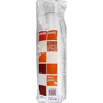 Nupik Vaso transparente paquete 25 unidades 1 l