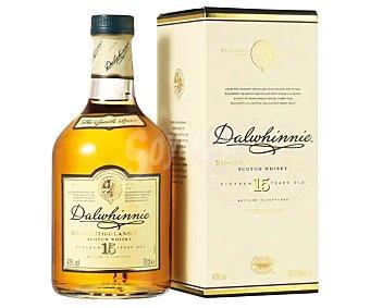 Dalwhinnie Whisky single malt 15 años Botella de 70 cl
