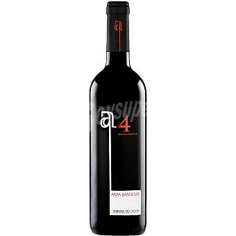 ANTA 4 Vino tinto roble 4 meses en barrica D.O. Ribera del Duero Botella 75 cl