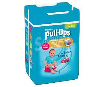 Pull-Ups Huggies Pañal aprendizaje para niño talla 5 de 11 a 18 Kilogramos 26 Unidades