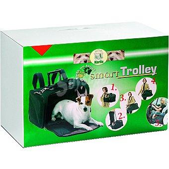 KARLIE Modelo Smart transportin para mascotas color negro medidas 52x26x34 cm resiste hasta 15 kg 1 unidad 15 kg 1 unidad