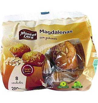 Magdalenas Inpanasa con piñones 280 GRS