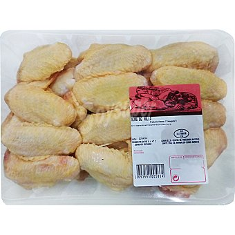 Alas de Pollo Amarillas Enteras - Formato Ahorro - Peso Aproximado Bandeja 900 g
