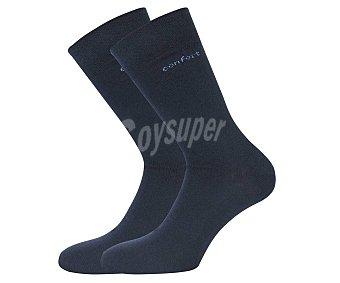 33 thirty three Pack de 2 pares de calcetines medicinales color azul marino, talla 43/46