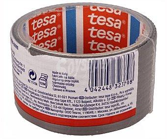 Tesa Cinta americana color gris 10m x 50mm, TESA.