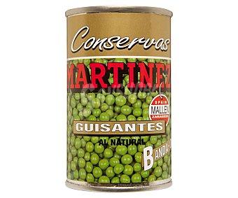 MARTINEZ BANDA ORO Guisantes muy finos Lata 95 g neto escurrido