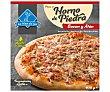 Pizza de bacón y atún hecha al horno de piedra 400 g LA NIÑA DEL SUR