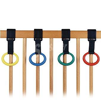 INNOVACIONES MS Set de 4 anillas multicolores para cuna