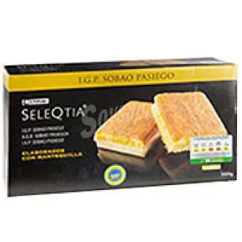 Eroski Seleqtia Sobao pasiego 100% mantequilla Caja 600 g