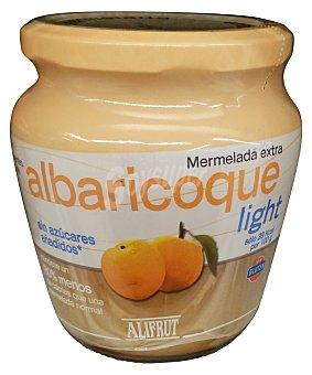 ALIFRUT Mermelada de albaricoque light Tarro de 380 g