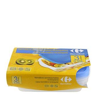Carrefour Set 3 herméticos semidesechab 1 ud