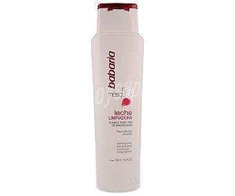Babaria Leche limpiadora rosa mosqueta 400 ml