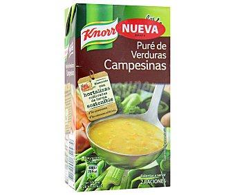 Knorr Pure de verduras campesinas 500 ml