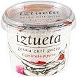 Queso blanco salado-pimiento de Ezpeleta Tarrina 200 g Iztueta